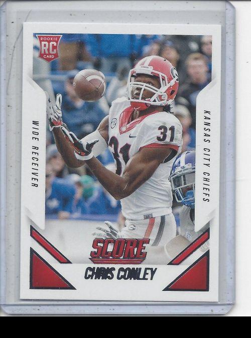 2bd9620a24b 2015 Score Chris Conley # 0