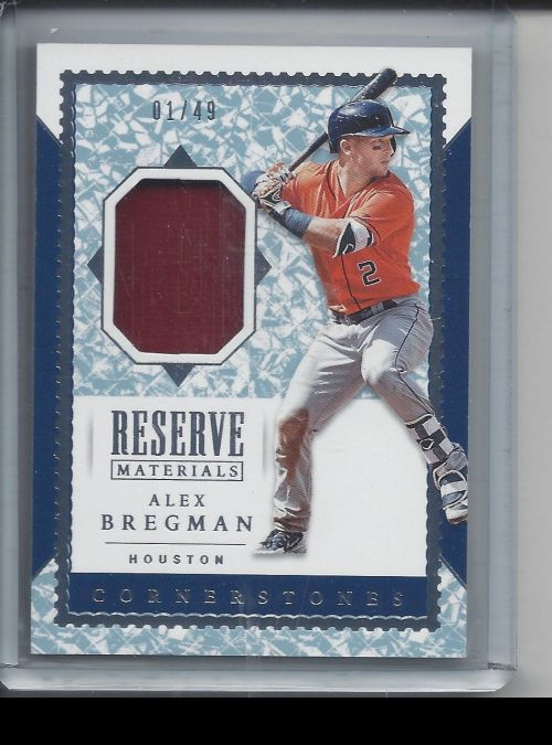 2019 Panini Chronicles   Alex Bregman<br />Card Owner: Stephen Theriot