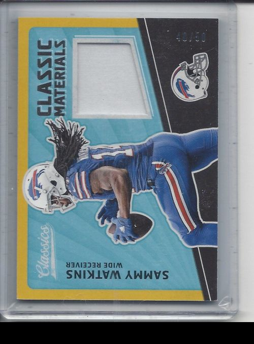 2017 Panini Classics   Sammy Watkins<br />Card not available
