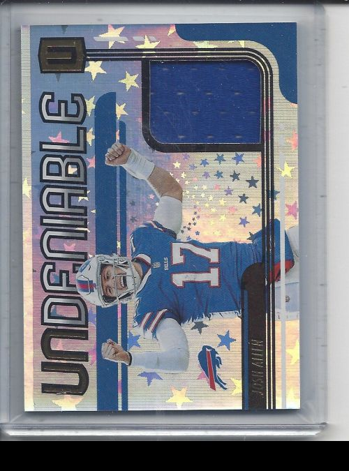 2019 Panini Unparalleled   Josh Allen<br />Card not available