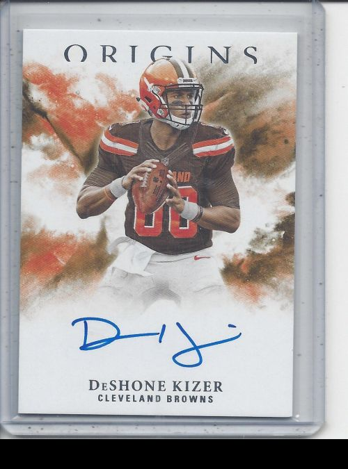 2017 Panini Origins   DeShone Kizer<br />Card not available