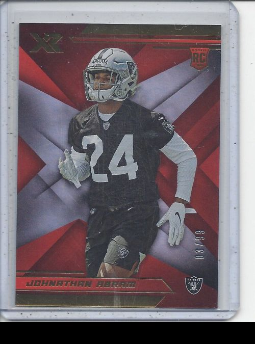 2019 Panini XR   Jonathan Abram<br />Card not available