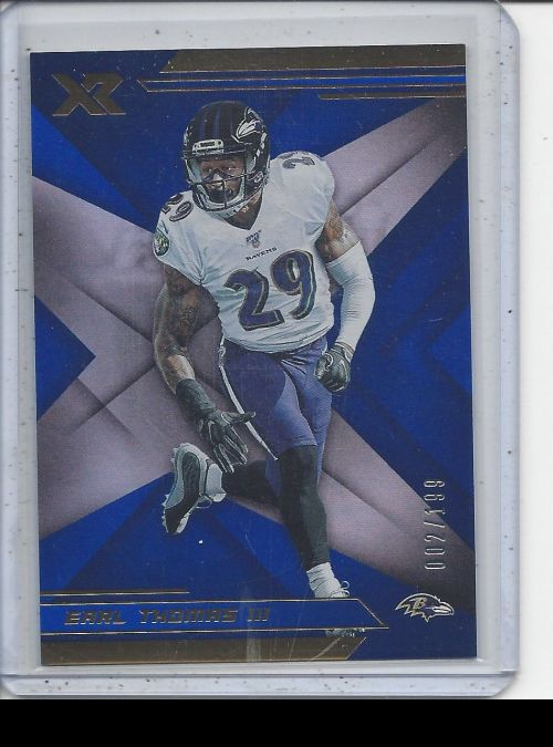 2019 Panini XR   Earl Thomas III<br />Card not available