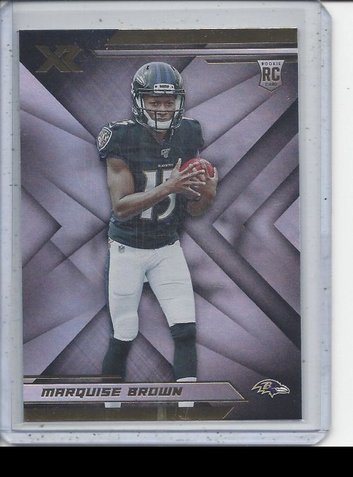2019 Panini XR   Marquise Brown<br />Card not available