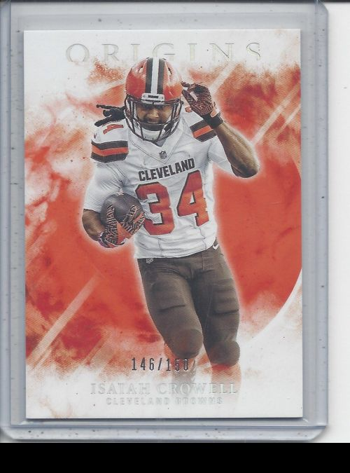 2017 Panini Origins   Isaiah Crowell<br />Card not available