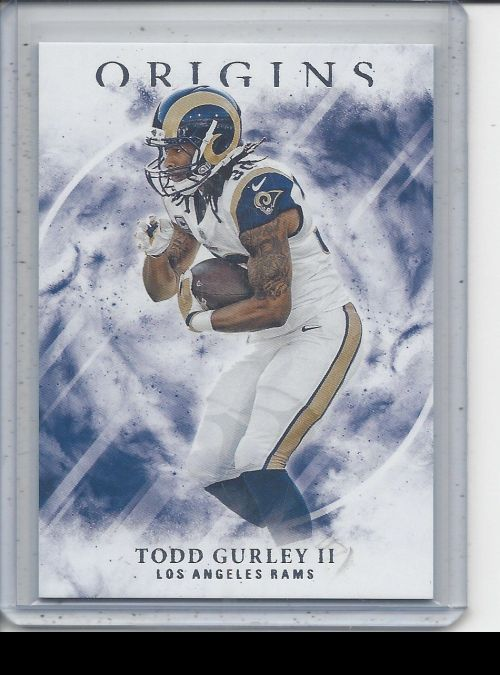 2017 Panini Origins   Todd Gurley II<br />Card not available