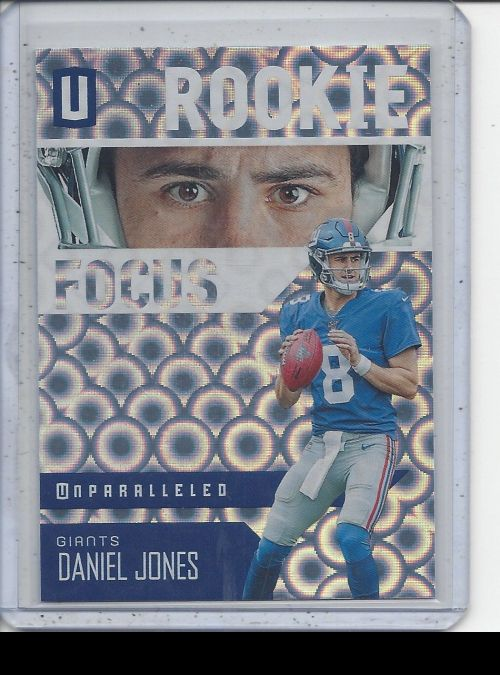2019 Panini Unparalleled   Daniel Jones<br />Card not available
