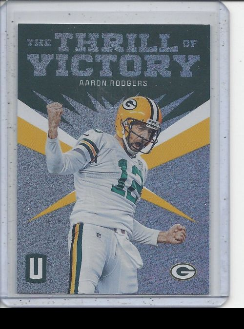 2019 Panini Unparalleled   Aaron Rodgers<br />Card not available