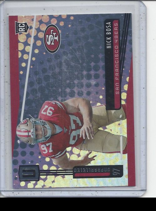 2019 Panini Unparalleled   Nick Bosa<br />Card not available