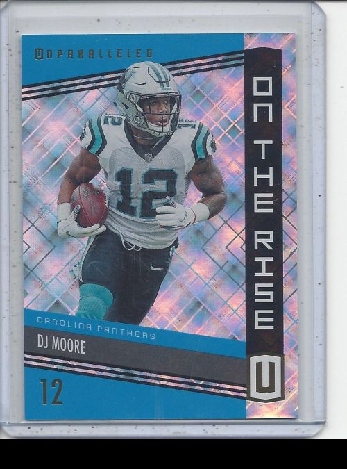2019 Panini Unparalleled   DJ Moore<br />Card not available