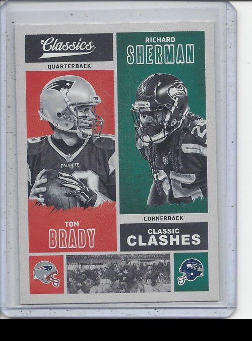 2017 Panini Classics   Tom Brady, Richard Sherman<br />Card not available