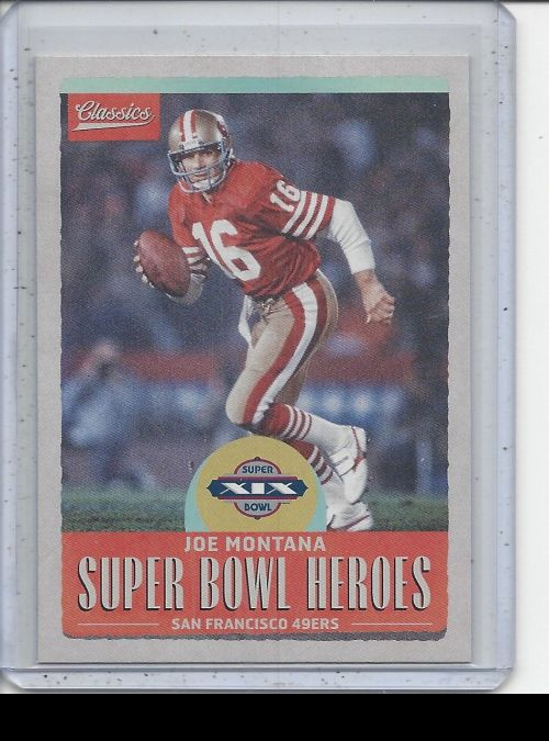 2017 Panini Classics   Joe Montana<br />Card Owner: Trade Box