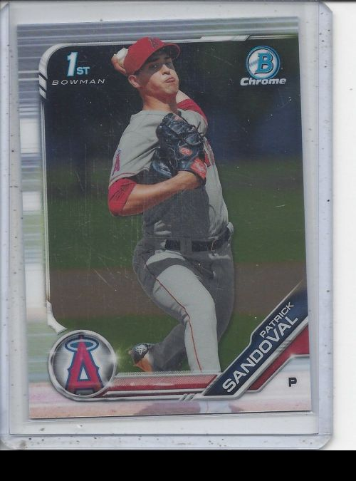 2019 Bowman Chrome   Patrick Sandoval<br />Card not available