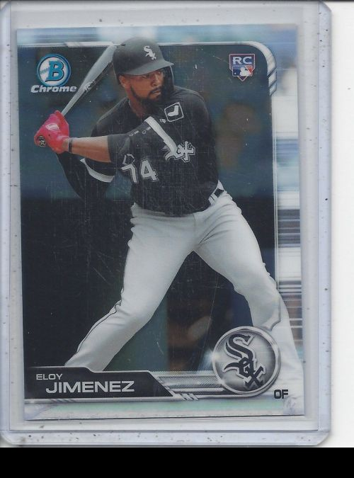 2019 Bowman Chrome   Eloy Jimenez<br />Card not available