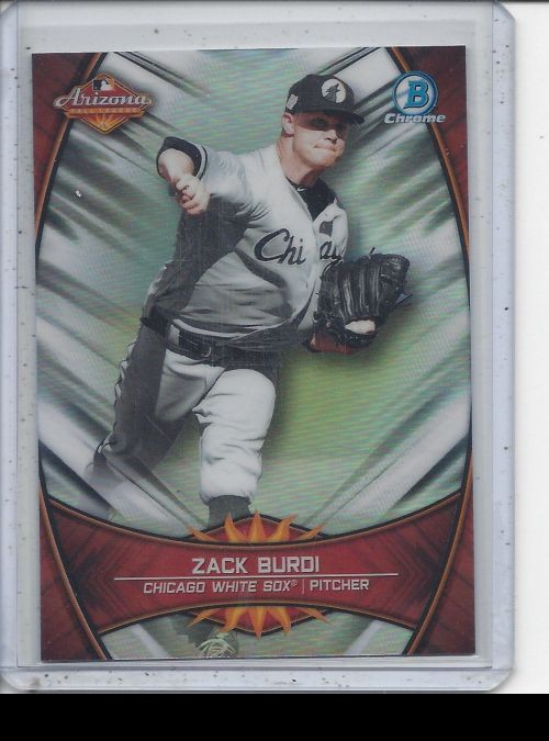 2019 Bowman Chrome   Zack Burdi<br />Card not available