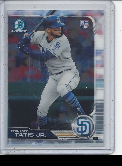 2019 Bowman Chrome   Fernando Tatis Jr<br />Card not available