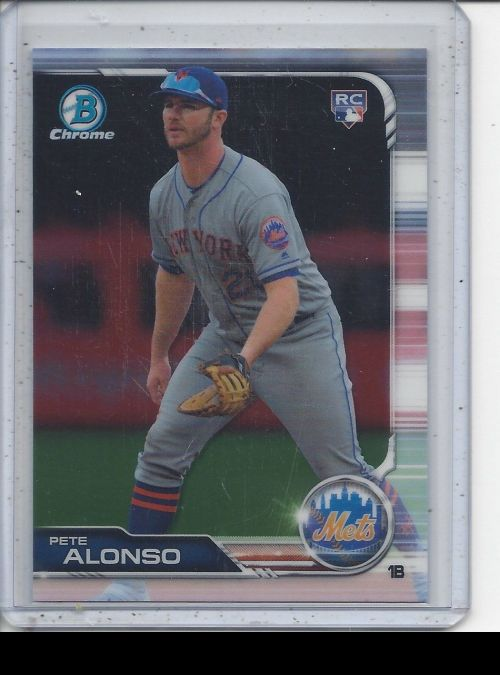 2019 Bowman Chrome   Peter Alonso<br />Card not available