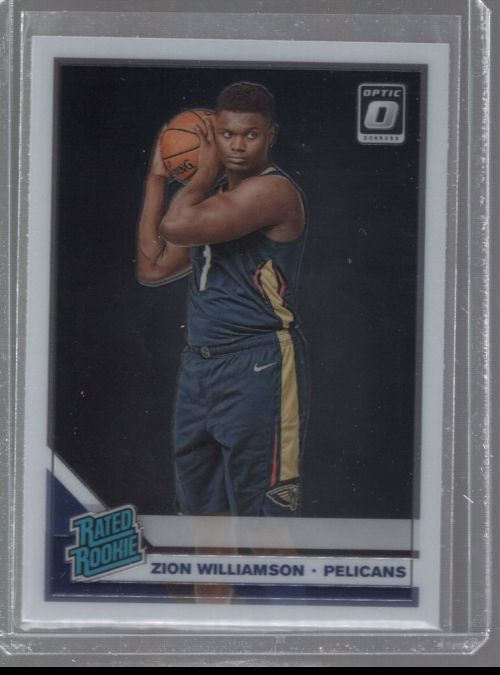 2019-20 Donruss Optic Legends Material Printing Plate Magenta Zion Williamson<br />Card not available