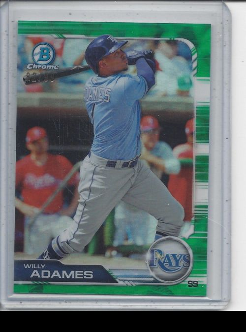2019 Bowman Chrome   Willy Adames<br />Card not available