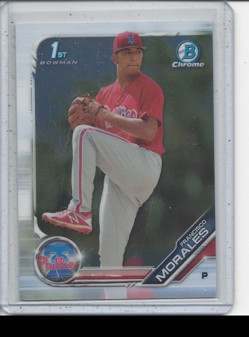 2019 Bowman Chrome   Francisco Morales<br />Card not available