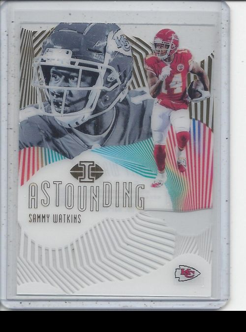 2019 Panini Illusions   Sammy Watkins<br />Card not available