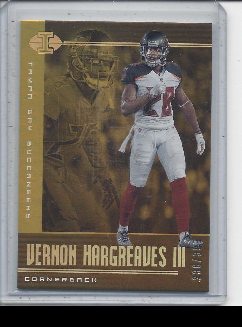 2019 Panini Illusions   Vernon Hargreaves III<br />Card not available