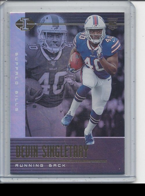 2019 Panini Illusions   Devin Singletary<br />Card Owner: Chris Woods