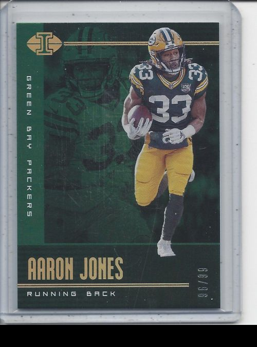 2019 Panini Illusions   Aaron Jones<br />Card not available