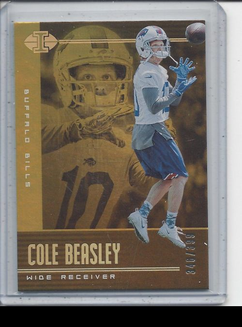 2019 Panini Illusions   Cole Beasley<br />Card Owner: Chris Woods