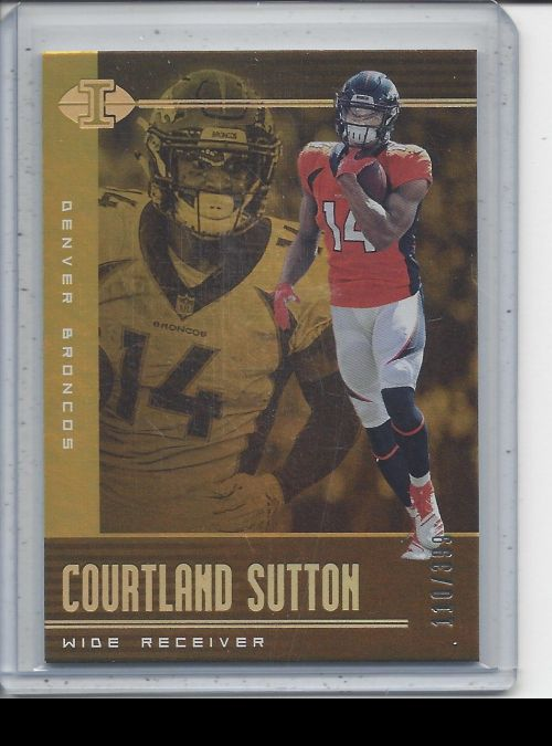 2019 Panini Illusions   Courtland Sutton<br />Card not available