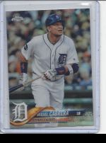 2018 Topps Chrome Miguel Cabrera