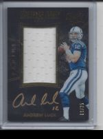 2016 Panini Black Gold Andrew Luck