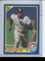 1990 Score Bernie Williams