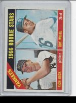 1966 Topps Roy White, Rich Beck