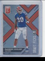 2018 Panini Elite Draft Picks DeAndre Goolsby