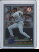1996 Topps Chrome Bernie Williams