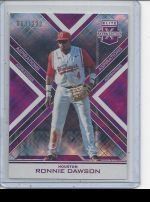 2016 Panini Elite Extra Edition Ronnie Dawson