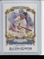 2017 Topps Allen & Ginter Don Mattingly