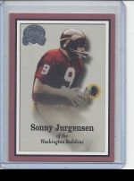 2000 Fleer Greats of the Game Sonny Jurgensen
