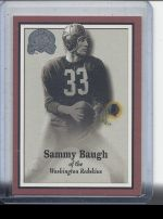 2000 Fleer Greats of the Game Sammy Baugh