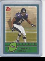 2003 Topps Terrell Suggs
