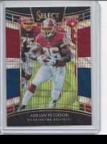 2018 Panini Select Adrian Peterson