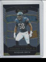 2018 Panini Select Roquan Smith
