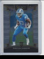 2018 Panini Select Kerryon Johnson