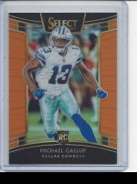 2018 Panini Select Michael Gallup