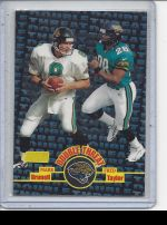 1998 Stadium Club Fred Taylor, Mark Brunell