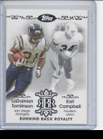 2007 Topps Earl Campbell, LaDainian Tomlinson