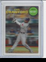 2011 Topps Lineage Carl Crawford