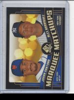 2008 Upper Deck SP Authentic Alex Rodriguez, Johan Santana