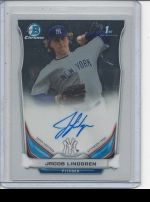 2014 Bowman Chrome Jacob Lindgren